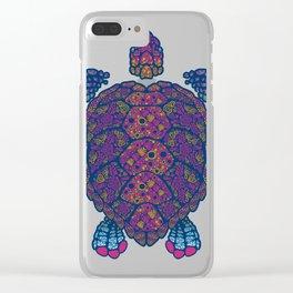Alebrije Turtle 2 Clear iPhone Case