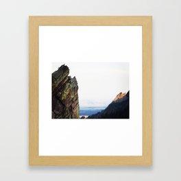 Reaching for the Top Framed Art Print