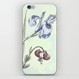 Nature is a temple iPhone Skin