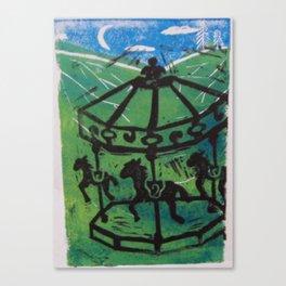 Carousel I Canvas Print