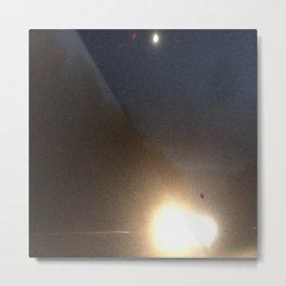 Abstracte Light Art in the Dark 4 Metal Print