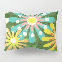 In The Garden Among The Flowers Pillow Sham