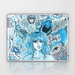 Doodles of Disturbing Thoughts Laptop & iPad Skin