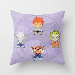 A Boy - A Girl - Thundercats Throw Pillow