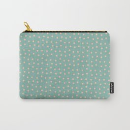 Dots&blue Carry-All Pouch