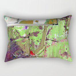 Green Earth Boundary Rectangular Pillow