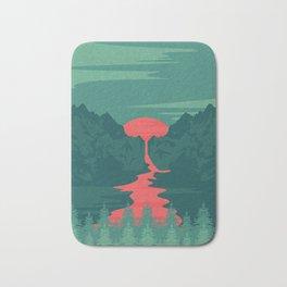 The Red River Bath Mat