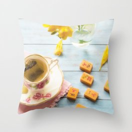 Afternoon Game Throw Pillow