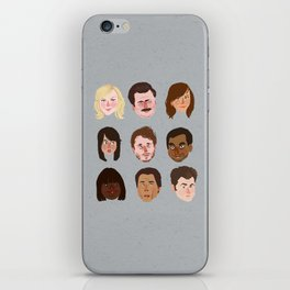 Parks and Rec iPhone Skin
