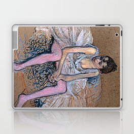 Dancer in Pink Tights Laptop & iPad Skin