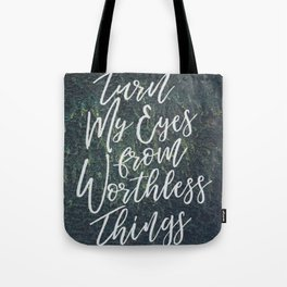 Worthless Things Tote Bag