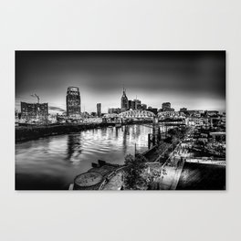 nashville tennesee skyline Canvas Print