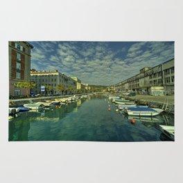 Rijeka old dock  Rug
