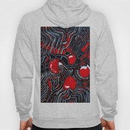 Red Maze Hoody