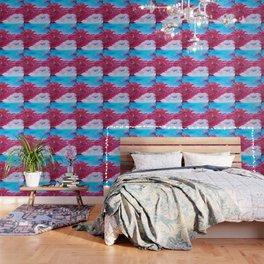 Crimson Cascade Wallpaper