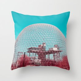 Surreal Montreal #6 Throw Pillow