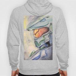 Halo gaming watercolor design Hoody