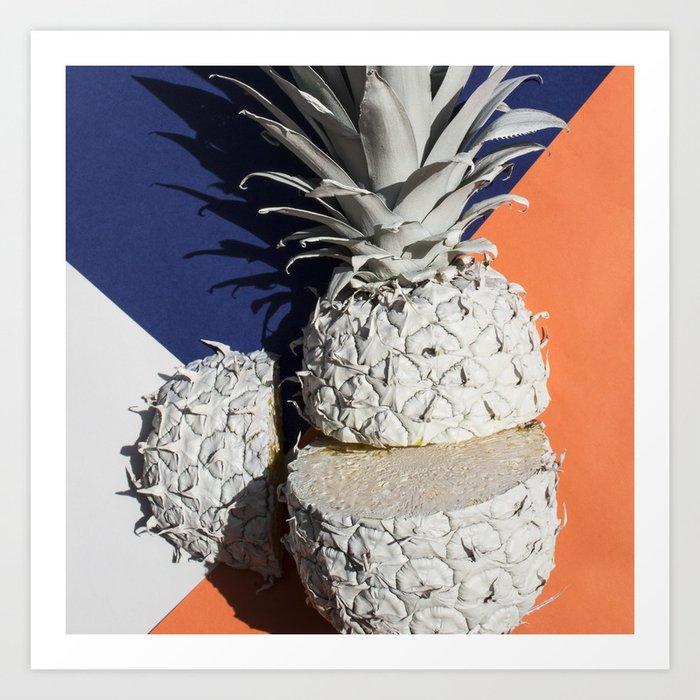 Pineapple Haze Art Print