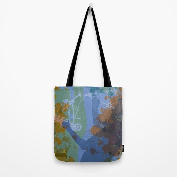 Voyager (Blue) Tote Bag