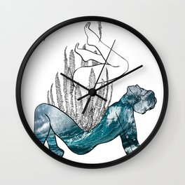 Sink in my Ocean Wall Clock