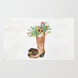 Southwestern Sunflower Rug