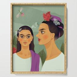 Frida's Makeover/under Serving Tray