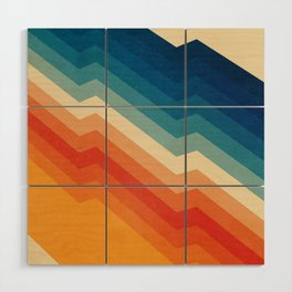 Barricade Wood Wall Art