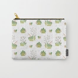 Shy Unicorn Pattern Carry-All Pouch