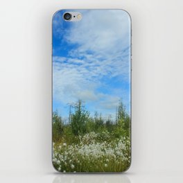 Swamp flowers iPhone Skin