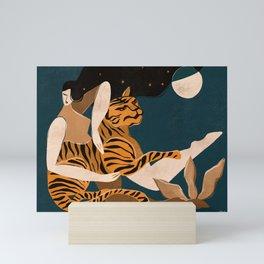 Wild at heart Mini Art Print