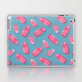 Matryoshka Blue Laptop & iPad Skin