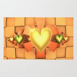 Hearts & Bows Rug