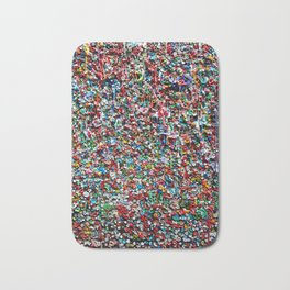 Pop of Color - Seattle Gum Wall Bath Mat