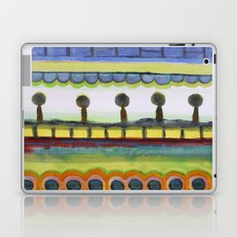 The Seaside Promenade Laptop & iPad Skin