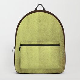 Yellow Paint on Wood Backpack