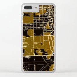 Fort Lauderdale old map year 1949, united states old maps Clear iPhone Case