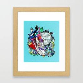 New Balance Illustration Framed Art Print