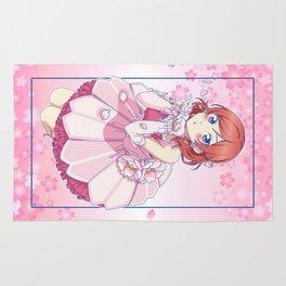 Love Live! Maki Nishikino Pink Version Rug