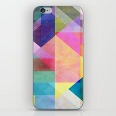 Color Blocking 2 iPhone & iPod Skin