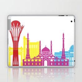 Astana skyline pop Laptop & iPad Skin