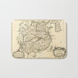 L'Empire de la Chine, Map of China (1764) Bath Mat