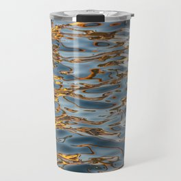 Abstract Water Travel Mug