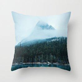 Grassi Lakes III Throw Pillow