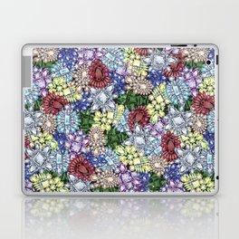 Jewelbox Brooch Toss on Black Onyx Laptop & iPad Skin