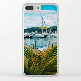 Separation Clear iPhone Case