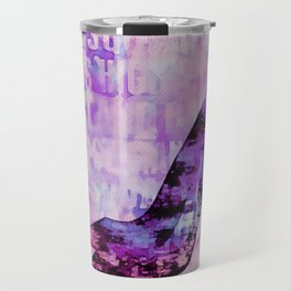 High heel female shoe watercolor art Travel Mug