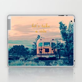 Let's Take a Ride Laptop & iPad Skin