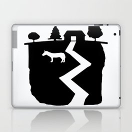Farm On The Edge Of The World Laptop & iPad Skin