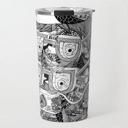 hipster Travel Mug