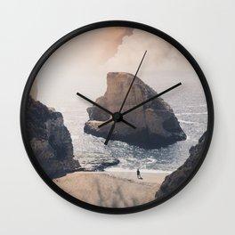 Shark Fin Cove Wall Clock